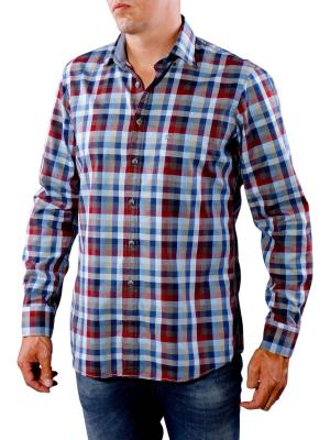 Olymp Casual Shirt red/blue
