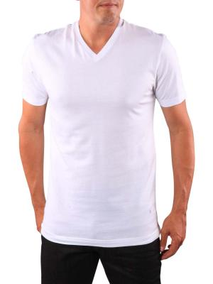 Olymp 2-Pack Level Five T-Shirt V-Neck white