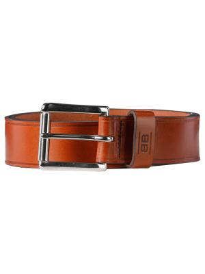 Pat cognac 40mm by BASIC BELTS