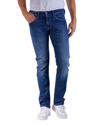 Pepe Jeans Cash 5PKT 11 oz recycled blue