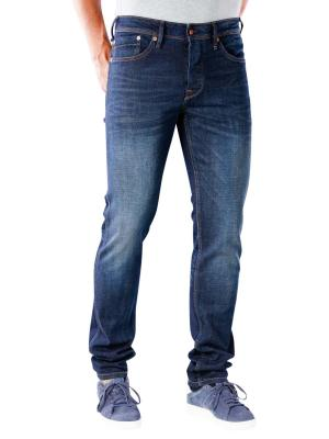 Pepe Jeans Hatch Slim 12oz worn in cross denim