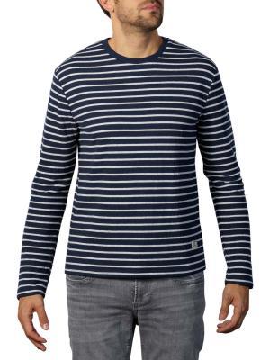 Pepe Jeans Anderson Melange Stripe Sweater deep sea