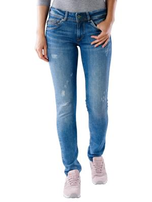 Pepe Jeans New Brooke Slim wiser wash destroy denim