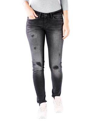 Pepe Jeans Pixie Skinny black destroy