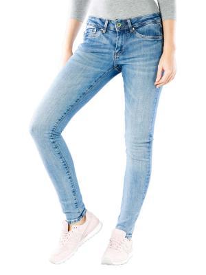 Pepe Jeans Pixie Skinny Medium Destroy Wiser Wash denim