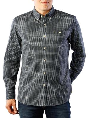 Pepe Jeans Gareth Space Yarn Dye Shirt blue black