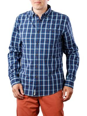 Pepe Jeans Marlborough Indigo Tonal Check indigo