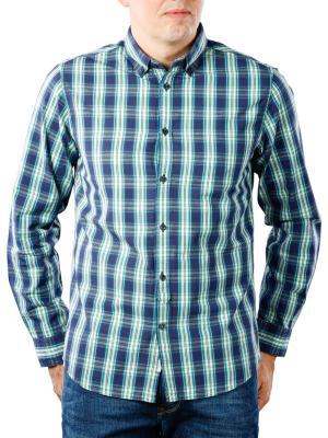 Pepe Jeans Chandler Compact Poplin Check Shirt blueing