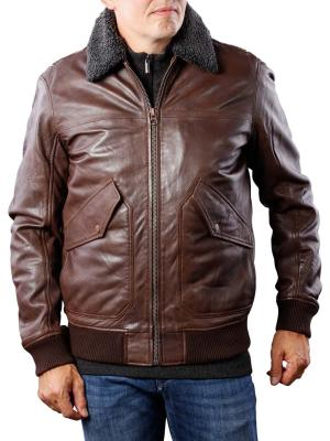 Pepe Jeans Barton Jacket sheep antique chocolate