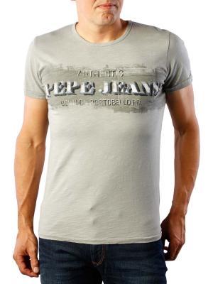Pepe Jeans Fisher Slub T-Shirt Jersey grey