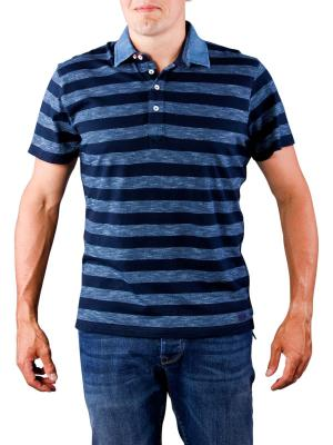 Pepe Jeans Olsen Slub Stripe Jersey indigo