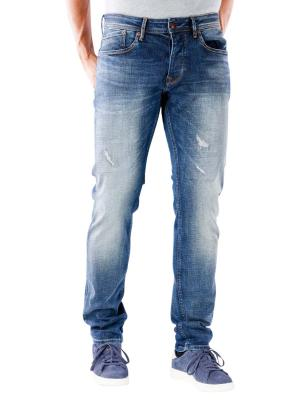 Pepe Jeans Stanley Tapered 12 oz vintage cross denim