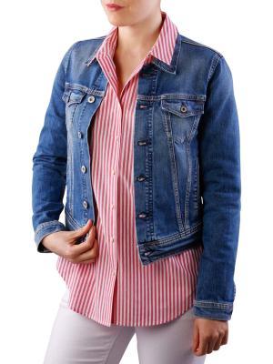 Pepe Jeans Core Jacket Streaky Worn denim
