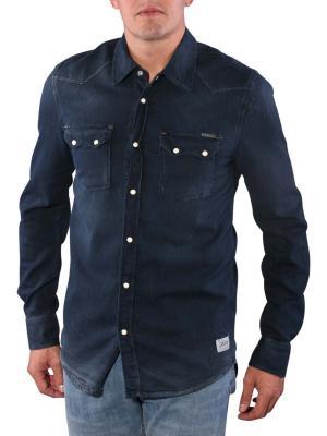 Pepe Jeans Austin Dark Night Denim Shirt indigo