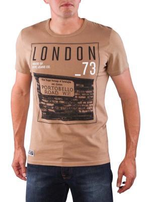 Pepe Jeans Tannen Dye Jersey Shirt nut brown