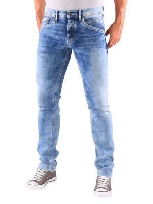 Pepe Jeans Track Tapered dark sweat denim