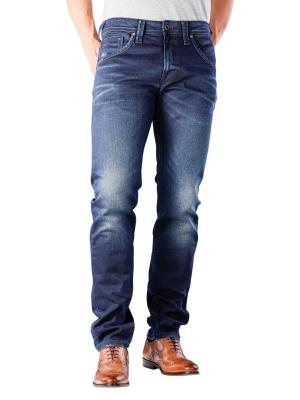 Pepe Jeans Zinc Slim 11 oz double indigo denim