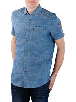 PME Legend Short Sleeve Sirt indigo