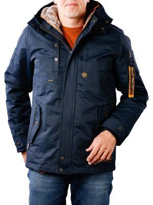 PME Legend Hooded Jacket snowpack black