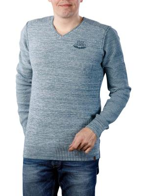PME Legend V-Neck Cotton Mouline 5237