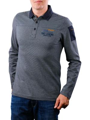 PME Legend Polo Long Sleeve yarn d
