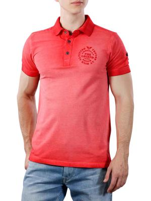 PME Legend Short Sleeve Polo Pique Cold Dye 3097