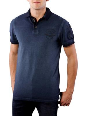 PME Legend Polo SS Light Piqué sky captain