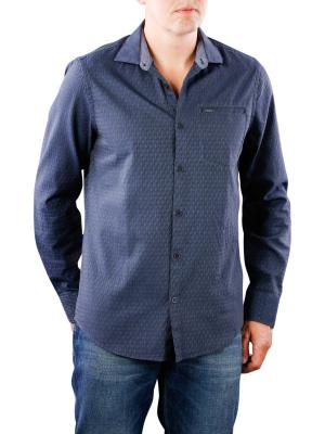 PME Legend Long Sleeve Shirt Melange jacquard tyler