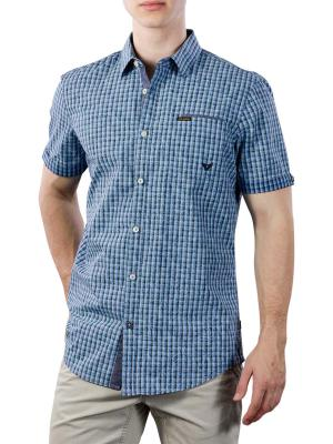 PME Legend Short Sleeve Shirt YD check all-over print 5287