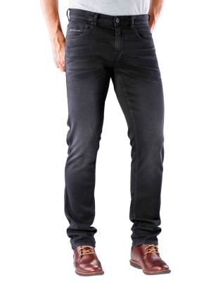 PME Legend Nightflight Jeans black faded stretch