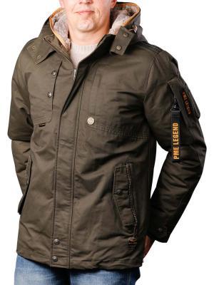 PME Legend Hooded Jacket Snow 8038
