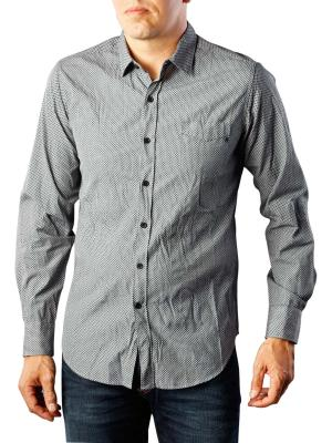 Replay Cotton Shirt blue