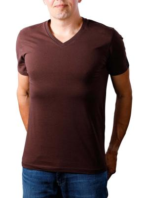Replay T-Shirt dark red