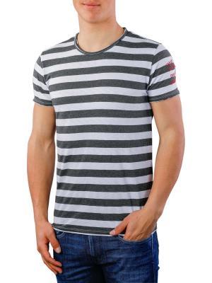 Replay T-Shirt grey striped