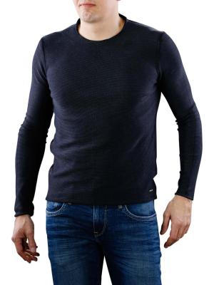 Replay Sweater navy blue