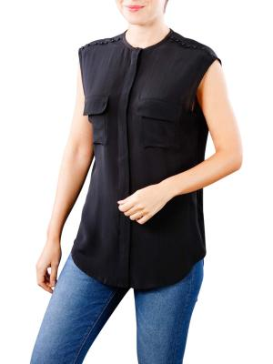 Replay Viscose Top black