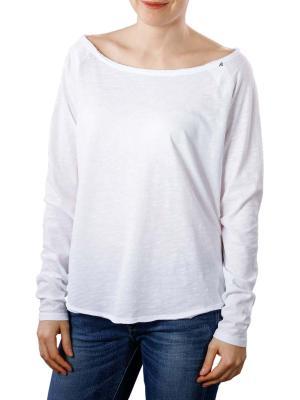 Replay T-Shirt LS white