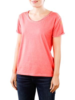 Replay Cotton T-Shirt red