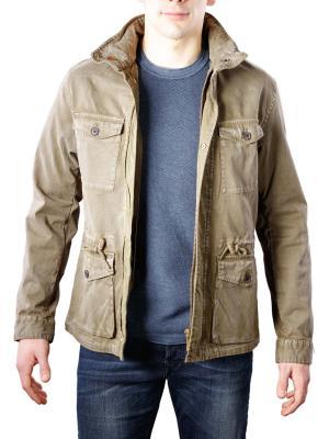 Scotch & Soda Garment Dyed Field Jacket sage
