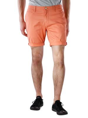 Scotch & Soda Chino Short Stretch orange sand