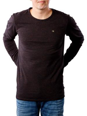 Scotch & Soda Classic Cotton/Elastane LS T-Shirt black