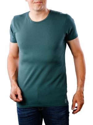 Scotch & Soda Classic Crew Neck T-Shirt logo print green