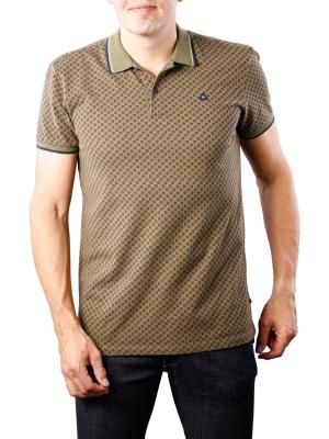 Scotch & Soda Clean Polo with contrast tippings olive