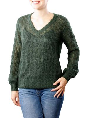 Maison Scotch Fluffy V-Neck Knit 1535