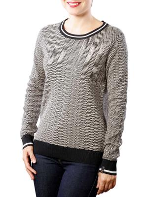 Maison Scotch Basic Pullover grey