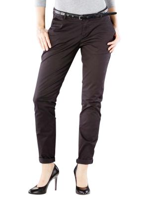 Maison Scotch Slim Fit Stretch Chino black
