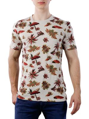 Scotch & Soda Crewneck Tee Seasonal All-Over Print 0217