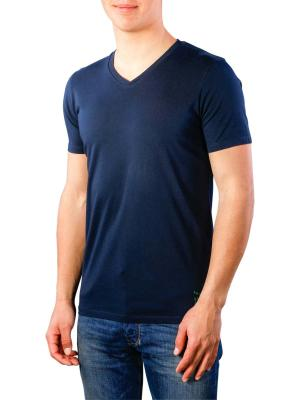 Scotch & Soda Classic Solid V-Neck Tee 0002