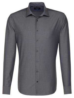 Seidensticker Shirt Shaped Fit Business Kent grey