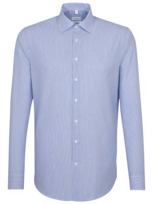 Seidensticker Hemd Slim Fit Business Kent mid blue